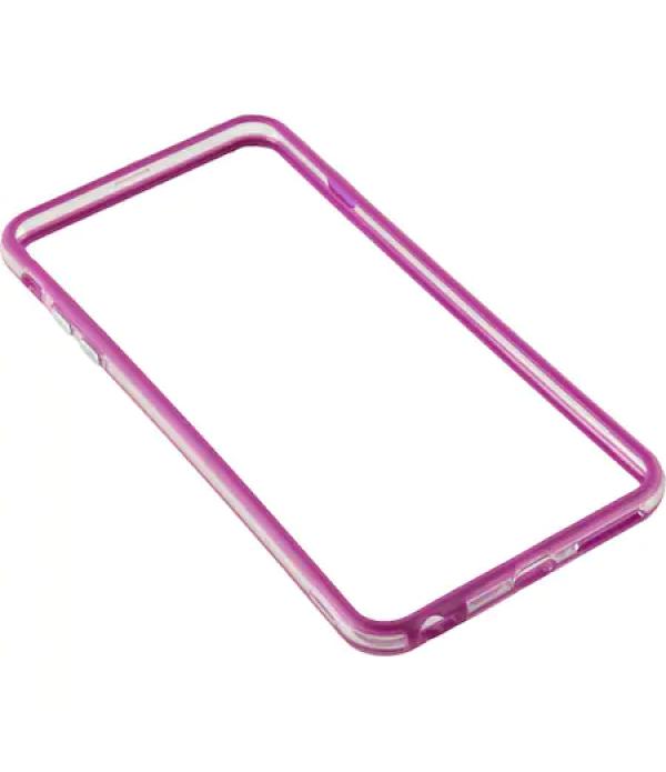 Bumper silicon Serioux pentru iPhone 6, Mov