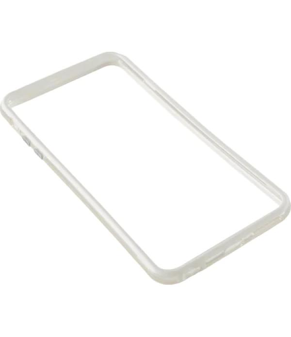 Bumper silicon Serioux pentru iPhone 6 Plus, Alb