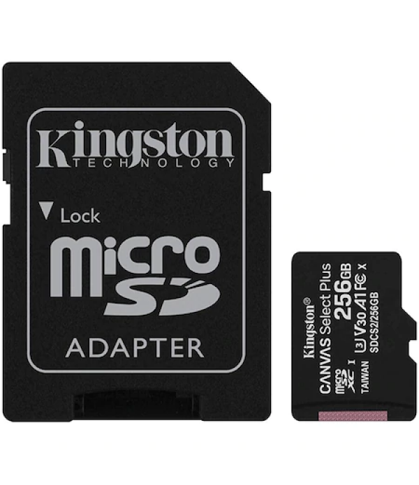 Card de memorie MicroSD Kingston Canvas Select Plu...