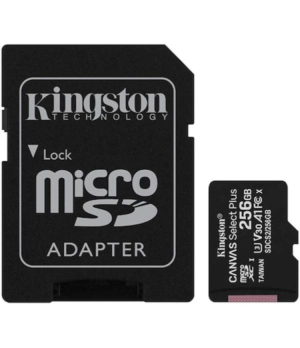 Card de memorie MicroSD Kingston Canvas Select Plu...
