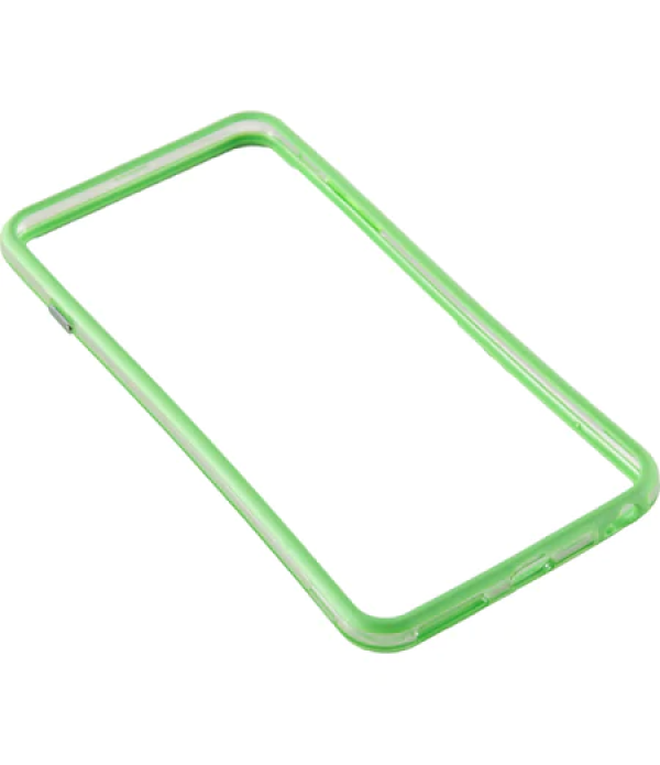 Bumper silicon Serioux pentru iPhone 6 Plus, Lime