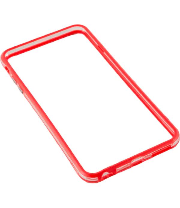 Bumper silicon Serioux pentru iPhone 6 Plus, Rosu