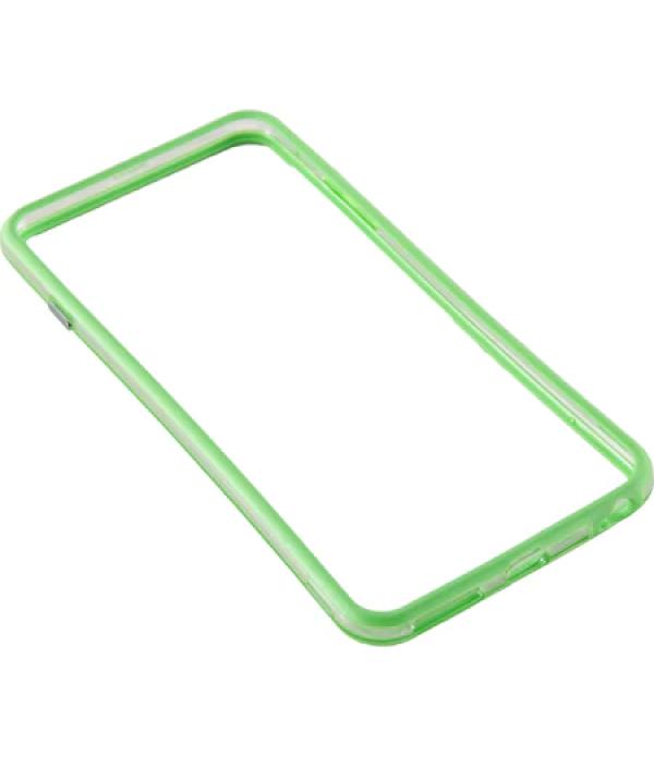 Bumper silicon Serioux pentru iPhone 6, Lime