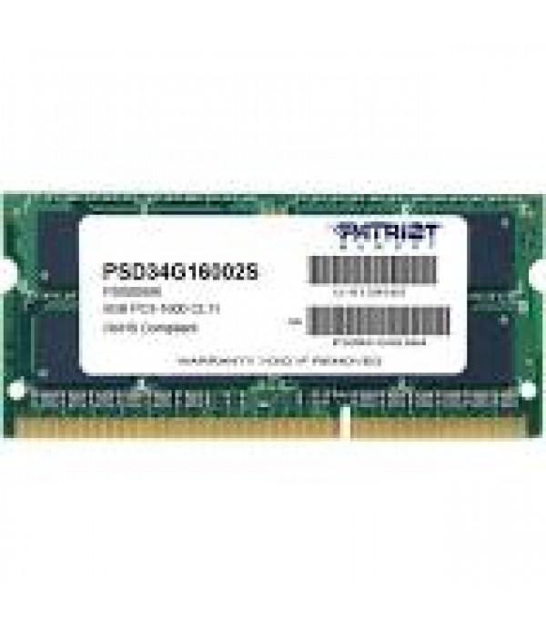 Memorie Patriot 4GB 1600 MHz DDR3 CL11 SODIMM
