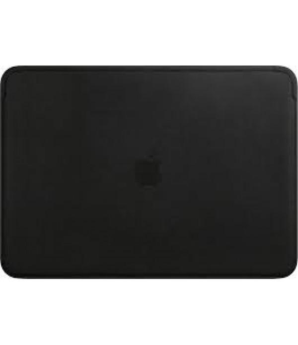 Husa din piele, magnetica  Apple pentru MacBook Pro 13 inch, Neagra
