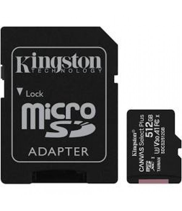 Card de memorie Kingston Canvas Select Plus, Micro...