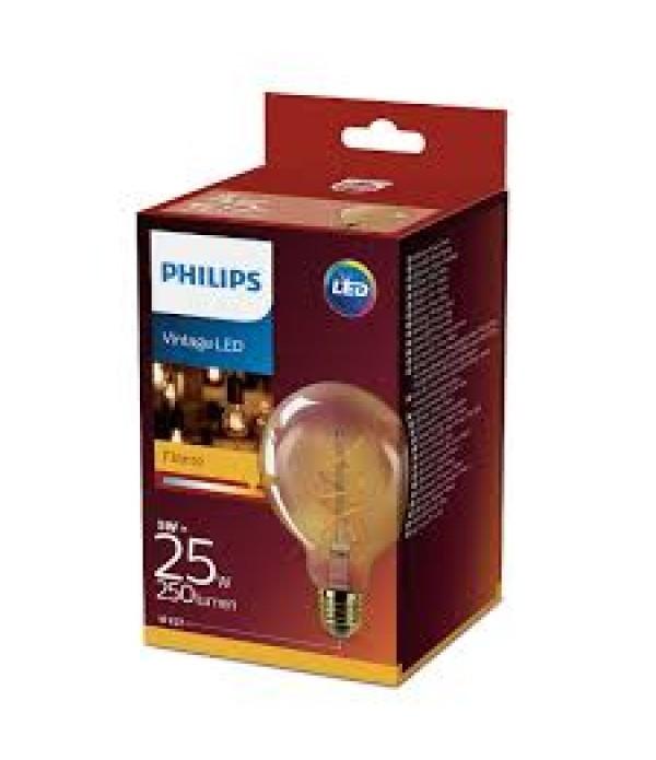 Bec LED vintage Philips Classic giant, E27, 5W (25...