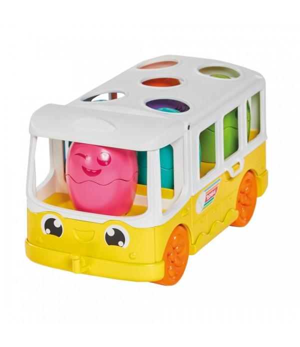 Jucarie Tomy - Autobuzul cu oua surpriza