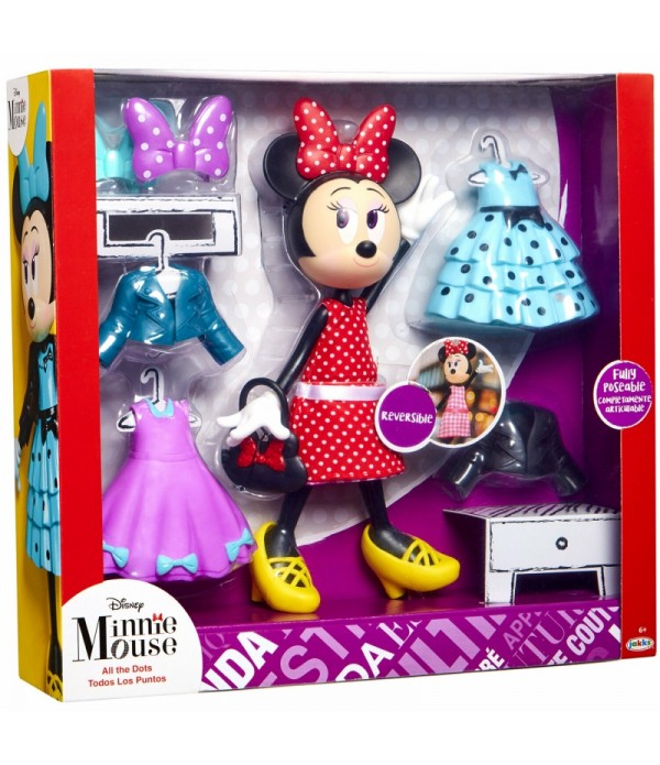Set de joaca Disney - Minnie Mouse, All the Dots
