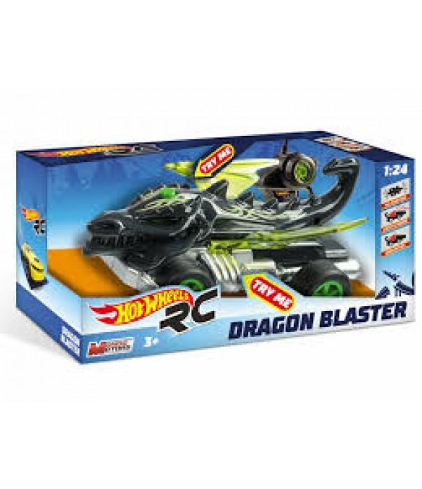 Masinuta Hot Wheels RC, Dragon 1:24